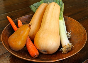 Butternut Squash and Pear Soup Ingredients